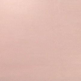 Tulle rigide rose pâle