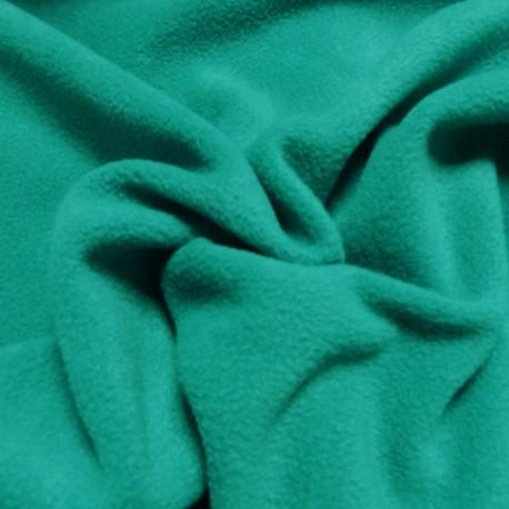 Tissu Polaire vert canard
