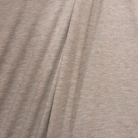 Jersey uni gris chiné