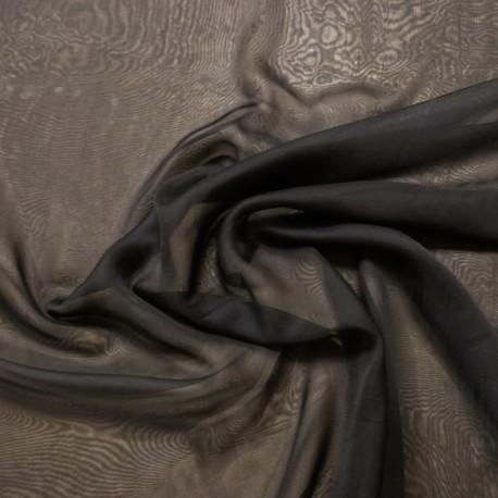Tissu Voile Noir