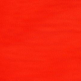 Tulle souple rouge