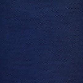Tulle souple bleu marine
