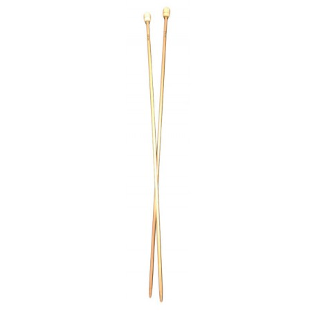 Aiguilles à tricoter bambou P10129