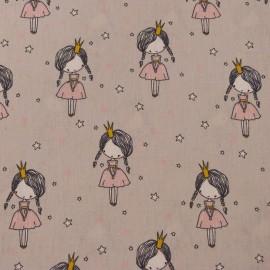 Tissu Princesse Rose