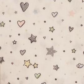 Tissu étoiles