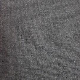 Tissu Côme enduit anthracite