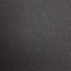 Tissu Côme enduit noir