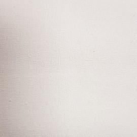 Tissu Côme enduit blanc