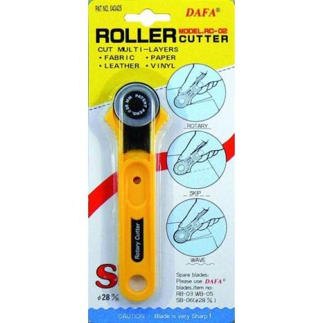 Cutter rotatif lame droite