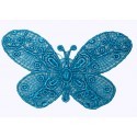 Papillon Turquoise