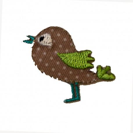 Oiseau marron