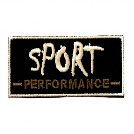 Sport performance noir